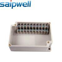 供应高质量电缆接线盒ABS防水接线盒SP-MG-10位端子盒