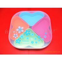厂家直销 供应塑料苹果形分格盘t-pan-0157b图片