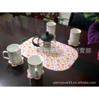 桌垫台垫 餐垫 塑胶桌垫 透明软玻璃桌垫 (来稿定做广告桌垫