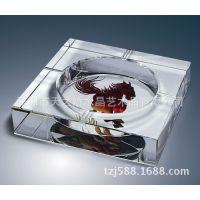 方孔K9料水晶烟灰缸,深圳厂家直销办公室用品摆件