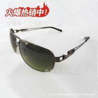 厂家直销 男士偏光太阳镜 防眩光驾驶镜 镂空镜腿眼镜 运动墨镜潮