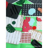 EVA发泡玩具贴纸,EVA四色图案转印贴纸,EVA产品贴纸