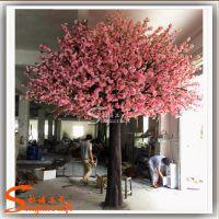 专业设计商场装饰仿真树 室内欧式婚礼仿真玻璃钢 樱花大树