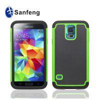 s5 手机壳 三星galaxy s5三合一满天星手机保护套 钻石边框pc外壳