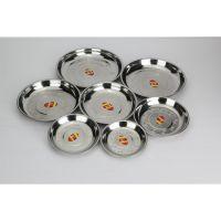 不锈钢深汤盘 16cm-28cm不锈钢汤盘 餐饮用品 幼儿园专用汤碗盘