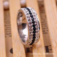 2014新款欧美流行女款不锈钢戒指 男士钛钢指环 速卖通热卖 代发