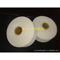厂家现货供应 21支本白手套用棉纱 帆布手套棉线 气流纺再生棉纱 可订货生产