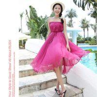 2014新款8米大摆半身裙欧美拖地新款显瘦夏季秀真丝长裙
