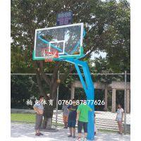 中山篮球架厂家 佛山透明板篮球架安装 珠海纤维板篮球架价钱