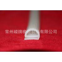 厂家供应e形硅胶条 蒸柜密封条来样定制 硅胶制品批发