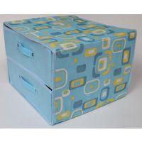 一件代发索纳系列 简约两层两抽收纳盒 家居日用无纺布内衣收纳箱