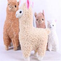 日本原单 新奇羊驼公仔小羊毛绒玩具 厂家订做2015年吉祥物羊驼
