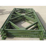 贝雷片生产厂家南方贝雷专业生产贝雷片及钢桥配件