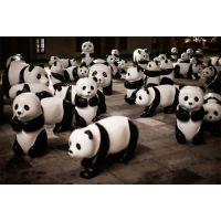 熊猫雕塑,玻璃钢雕塑卡通雕塑定做租赁出售