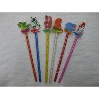 【厂家直销】木制工艺品 卡通笔 动物铅笔 工艺笔 活动笔