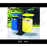 供应金属新款户外环保垃圾桶不 锈钢垃圾桶 公园学校户外果皮箱垃圾箱