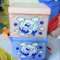 厂家供应支持定制无纺布收纳箱 可折叠收纳盒