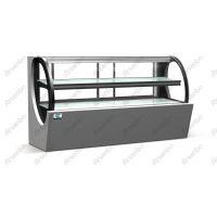 弧形蛋糕柜 带玻璃双层蛋糕展示柜 糕点保鲜柜
