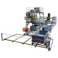 水泥发泡砖生产线|发泡水泥砌块设备|免蒸加气块生产线|恒兴砖机