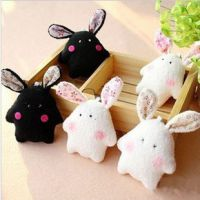 可爱珍珠兔兔小兔子婚庆礼品小布娃娃包包小毛绒挂件玩具G6652