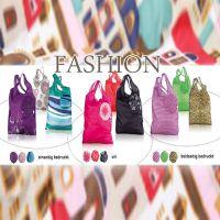 日本可折叠袋防水环保袋超大购物袋便携出口手提袋创意抽绳时尚