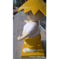 【厂家定制】雕塑造型高强度表面烤漆连锁店玻璃钢模型造型产品
