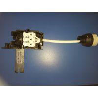 GU10陶瓷灯座410接线盒三位快插端子五金支架