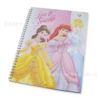 迪士尼授权厂商 2014迪士尼卡通人物笔记本 线圈笔记本A5记事本