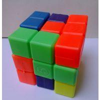 供应俄罗斯方块立体拼图积木拼板魔方启智益智玩具广告促销礼品赠品婴儿玩具