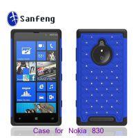 镶钻创意手机壳 Nokia n830点钻手机保护套 三合一套装手机壳