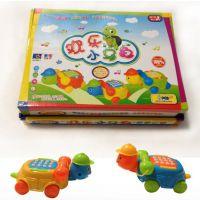 迷你小乌龟卡通音乐电话机 儿童早教益智玩具 6个装儿童电话AJ18