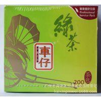 供应联合利华 车仔绿茶包袋泡茶 车仔绿茶茶包1.8g*200包