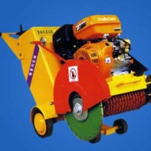 QG300汽油切割机 QF500混泥土路面切缝机 QW路面切纹机 建筑好帮手路面切缝机