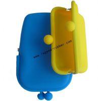 厂家专业生产硅胶钱包 迷你小钱包 创意零钱包 颜色齐全 厂家直销