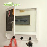 精耐特欧式创意电表箱装饰盒 DIY留言黑板 装饰遮挡配电箱木质品
