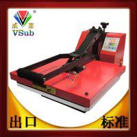 厂家供应40*50布袋木板铝板珠光板拼图数码印花美式高压热转印机