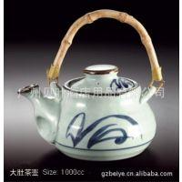 日韩式风格陶瓷餐具 大肚茶壶 酒店酒楼餐厅料理店餐具用品批发