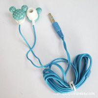 卡通入耳式耳机 通用款卡通耳机 袋装 工厂价 同款优质 满包邮
