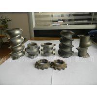 生产制造双螺杆挤出机螺杆芯轴,螺杆元件,双螺杆螺纹套加工