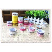 厂家供应彩色印刷和纸装饰胶带