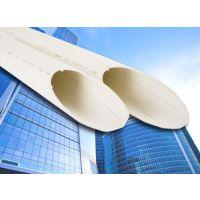 供应亚通内壁螺旋消音管/建筑排水用PVC-U螺旋消音管材及管件