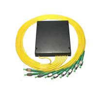 1X6 1X8 ABS盒式光分路器 拉锥式 EPON分光器连接器可选 分线盒