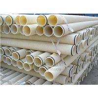 南宁厂家供应PVC-U聚氯乙烯双壁波纹管(SN4 SN8 国标)