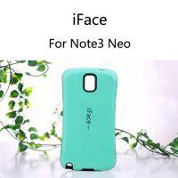 韩国Iface双色波点防滑三星n7505手机壳note3 neo防摔外贸手机套