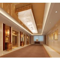 厂家定制镜面不锈钢工程灯 高档会所灯具 3C认证品质水晶灯具灯饰