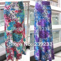2014 ebay速卖通新品爆款系列孔雀纹印花长裙 半身裙 现货 SK14
