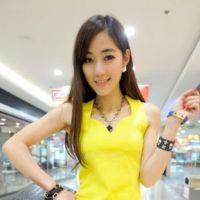 2014春装新款韩版螺纹棉 后背交叉V领小 吊带背心 女士 打底衫