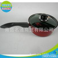 批发 韩国原装进口 红珀单柄锅 18CM 不粘炒菜热奶不锈钢 正品