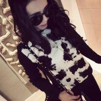 【艾琳沃】韩版秋冬装长袖奶牛休闲卫衣加厚打底衫女装上衣服潮