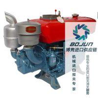 广州柴油机进口报关|代理|清关|流程|手续|费用博隽